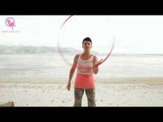 Rainbow Throw to One Handed Mandala : Hula Hoop Tutorial. Deanne Love.