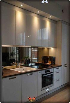 <br> Kitchen Room Design, Luxury Kitchen Design, Kitchen Cabinet Design, Luxury Kitchens, Home Decor Kitchen, Kitchen Interior, Kitchen Cabinets, Kitchen Ideas, Kitchen Countertops