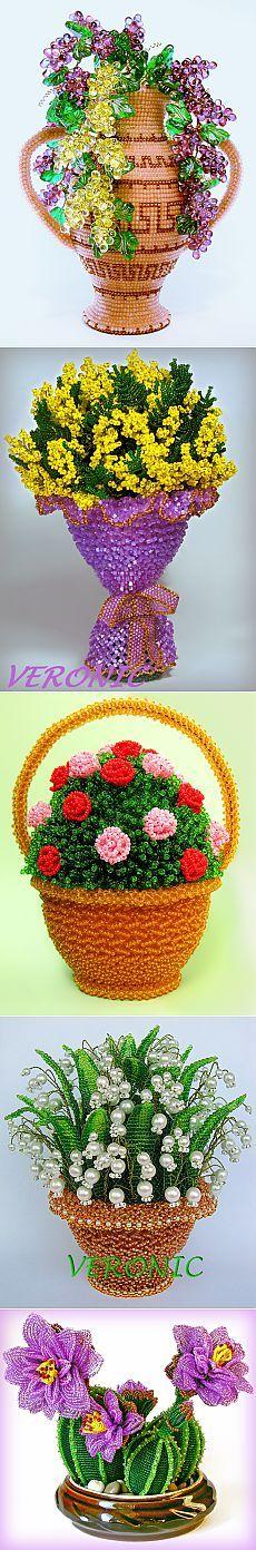 Изумительные работы из бисера от Veronic