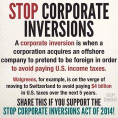 More and more corporations are using this slimy, unAmerican trick! It must stop!  VOTE for those who will STOP IT !!!