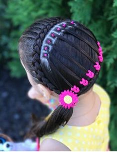 Baby Girl Hairstyles, Party Hairstyles, Braided Hairstyles, Cool Hairstyles, Sweet Little Things, Hair Styler, Toddler Hair, Updos, Hair Makeup