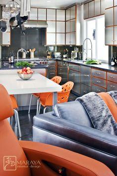 Orange & Stainless :)