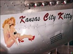 Aircraft Nose Art - Kansas City Kitty