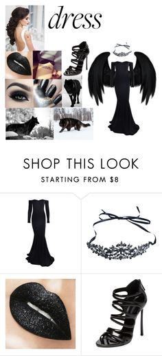 """""""The Queen of Wolves"""" by maggie-white ❤ liked on Polyvore featuring REGALROSE, Casadei and longsleeve"""