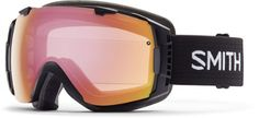 Smith I/0 Snow Goggles with Red Sol-X/Blue Sensor Lenses