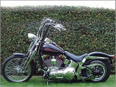 Wild1 Chubby® 16.0 in. Springer Apes - Harley Davidson Softail ...