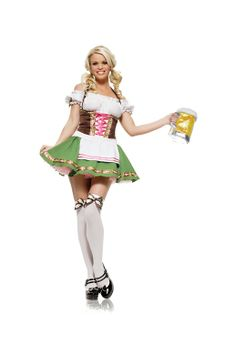 GRETCHEN GIRL ADULT WOMENS COSTUME - 160431