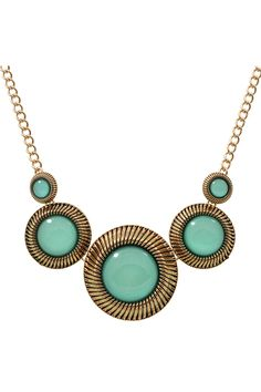 CLEOPATRA - Trendy Fashion Mint Pendant Necklace - Simply Me Boutique – Simply Me Boutique