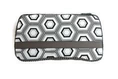 Black Hexagon - Baby Wipe Case - Wipes Case - Baby Shower Gift - Ready to Ship