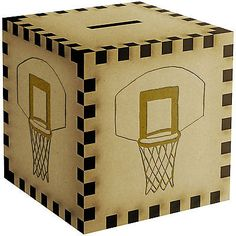 #Basketball net #engraved wooden money box / piggy bank #(mb00002522),  View more on the LINK: http://www.zeppy.io/product/gb/2/181933279945/