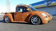VW New Beetle rat-rod truck