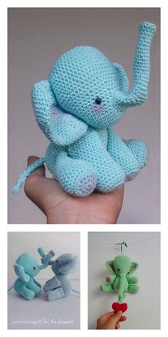 Amigurumi The Friendly Elephant Free Pattern – Free Amigurumi Patterns Crochet Shawl, Free Crochet, Amigurumi Patterns, Crochet Patterns, Last Stitch, Magic Circle, Little Elephant, Yarn Over, Slip Stitch
