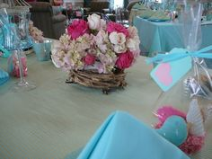 Florals by Stems by Serendipity with birds best inspiration