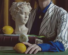 Mara Chevalier - Still Life Portrait Greek Statues, Still Life Photography, Drawing Reference, Be Still, Feminism, Collage, Sketches, Portrait, Drawings