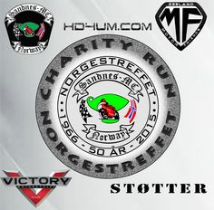@Victory Motorcycles Norway support the Charity Run Norgestreffet
