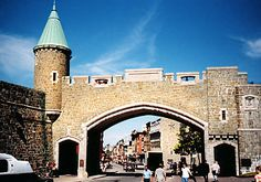 Quebec City's Porte Saint-Jean.