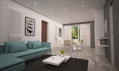 Una casa di 50 mq da arredare | InteriorBe