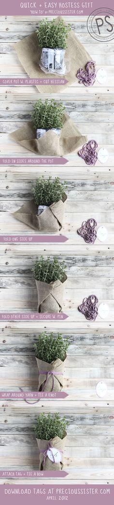 A QUICK AND EASY HOSTESS GIFT. Home & Garden | Precious Sister