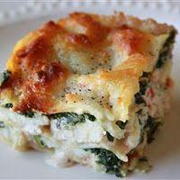 Spinich & Lobster Lasagna