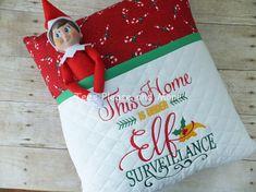 Elf Reading Pillow