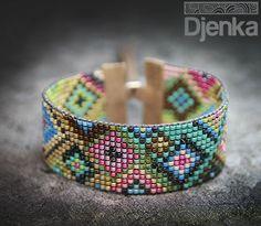 Ethnic bracelet - beading - Bengbu