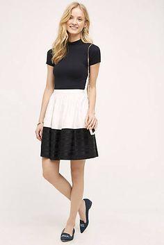 Blocked Gala Skirt
