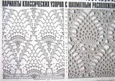 Pineapple crochet stitch