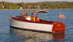 Iris - Van Dam Custom Wooden Boats