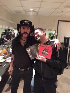 Lemmy Kilmister and Charlie Benante