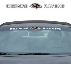 Baltimore Ravens Decal 35x4 Windshield Style