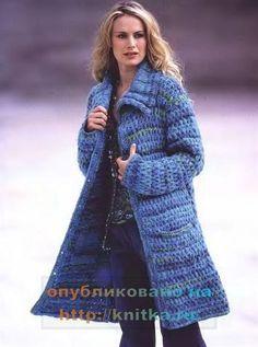Новые модели вязаного пальто