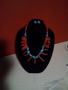 Turquoise and Spiny Oyster Shell--Dress it Up or Down