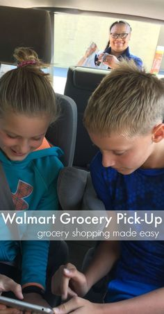 Walmart grocery pick-up is grocery shopping made easy. You should try Walmart's Free Online Grocery Pickup! Grocery pickup during the school year, is one of the ways I get through a busy week with kids' schedules and school and everything that goes with it! #teachmama #grocery #howto #ad #shopping #parenting #parents #school #backtoschool #ideas