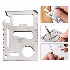 0.70$  Buy now - http://alil53.shopchina.info/go.php?t=32749101988 - 11 in 1 Tools Rescue Card Muti-Functions Holders Camping Tool,Stainless Steel Portable Knife For Outdoor Survival 0.70$ #buyonline