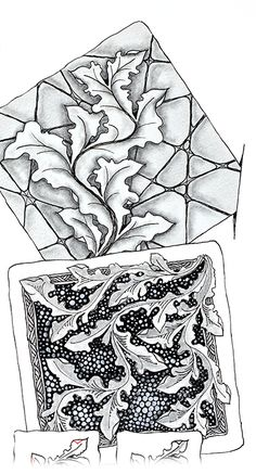 Zentangle Newsletter - 12 Days of 3Zs (continued) & 2 New Tangles!