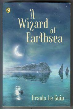 A Wizard of Earthsea (1968)    One of the few books I read again and again.