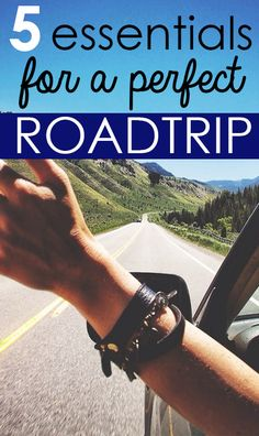 Road Trip Essentials – SRtrends. Road trip must haves!