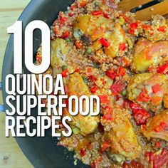 Quinoa (which is pronounced KEEN-wah, by the way) is a grain-like food that's getting a lot of attention—and for good reason. If you want to learn what all the fuss is about, stick with us. We have 10 quinoa superfood recipes for you to enjoy. #quinoa #superfoodrecipes