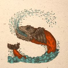 victorian mythical creatures design - Google Search