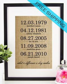 Hey, I found this really awesome Etsy listing at https://www.etsy.com/listing/226489512/what-a-difference-a-day-makes-burlap