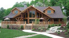 Log Home Design Plan and Kits for Big Sky