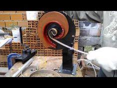 Torsionadora de Herreria - Dobladora de Hierro - Argentina - Maquina Forja - Rejas - YouTube