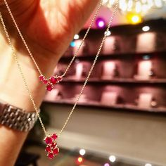 83cd27ab7 Beautiful Ruby Necklace! Just love rubies! Only available @ Phoenix Roze!  212-