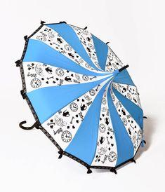 Beautiful Vintage Style Disney Inspired Umbrellas