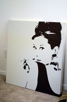 Audrey - Canvas