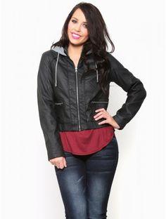 Holiday Treat Leather #Jacket