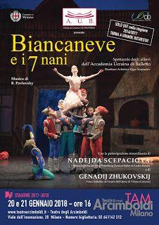 Made in Italy Magazine: Biancaneve e i sette nani e Don Quixote al Teatro ...