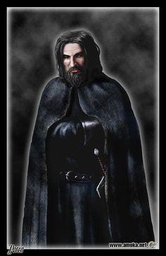 """Yoren - É um irmão jurado da Patrulha da Noite. Ele é um recrutador, ou """"corvo errante"""", responsável por percorrer os Sete Reinos e levando recrutas para a Muralha. Diz-se que Yoren tem sido um recrutador da Patrulha da Noite durante 30 anos. Nada se sabe de sua vida antes de vestir o negro. Ele passou 30 anos levando recrutas pela Estrada do Rei para a Patrulha da Noite."""