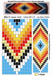 Native American Loom Beading Patterns Free Non Indian Beadwork, Native Beadwork, Native American Beadwork, Beading Patterns Free, Seed Bead Patterns, Beaded Jewelry Patterns, Free Pattern, Native American Patterns, Beadwork Designs