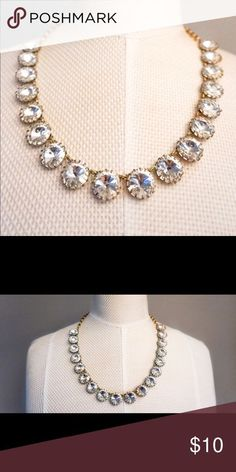Women's Statement Necklace - Silver Jewels, Gold Chain - Great for a night out, formal event, or work attire - Dresses up any outfit! - Worn few times, good condition Banana Republic Jewelry Necklaces Silver Necklaces, Silver Jewelry, Jewelry Necklaces, Fashion Photo, Work Fashion, Fashion Fashion, Gold Chains, Women Jewelry, Jewels